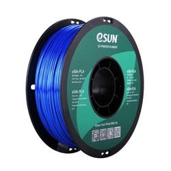 Esun - Esun 1.75 mm Blue Bright Effect eSilk-PLA Filament