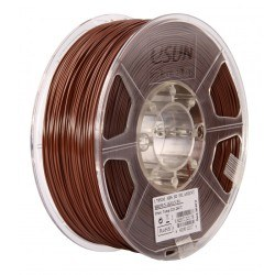 Esun - Esun 1.75 mm Brown ABS+ Plus Filament