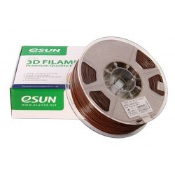 Esun 1.75 mm Brown ABS+ Plus Filament - Thumbnail