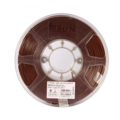 Esun 1.75 mm Brown ABS+ Plus Filament