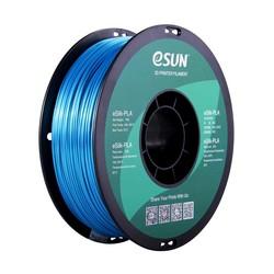 Esun - Esun 1.75 mm Cyan Bright Effect eSilk-PLA Filament