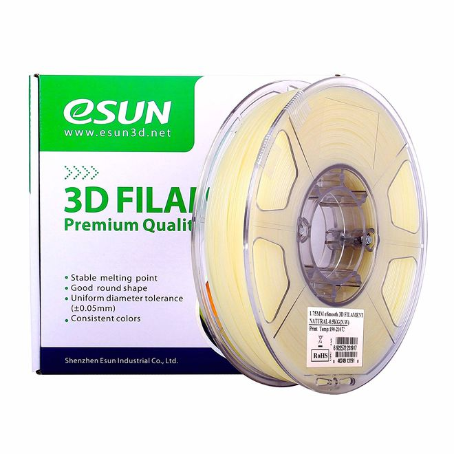 Esun 1.75 mm eSmooth Filament 500g