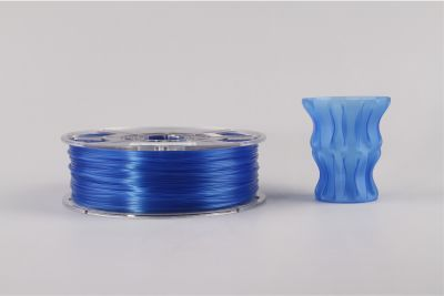 Esun 1.75 mm Açık Mavi Transparan PLA Filament - Glass Light Blue