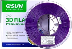 Esun - Esun 1.75 mm Mor PETG Filament - Solid Purple