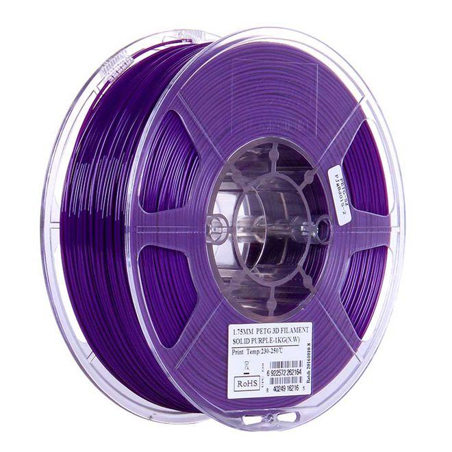 Esun 1.75 mm Mor PETG Filament - Solid Purple