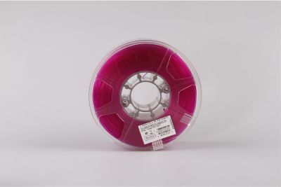 Esun 1.75 mm Mor Transparan PLA Filament - Glass Purple