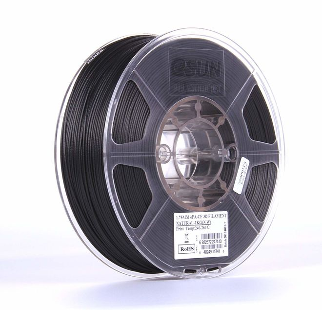 Esun 1.75 mm Naturel ePA-CF Filament - Natural