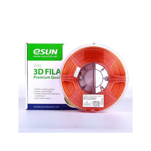 Esun 1.75 mm Orange PETG Filament