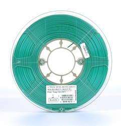 Esun - Esun 1.75 mm Solid Green PETG Filament
