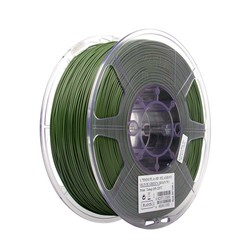 Esun - Esun 1.75 mm Zeytin Yeşili PLA+ Filament - Olivie Green