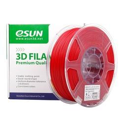Esun - Esun 2.85 mm Fire Engine Red PLA+ Filament