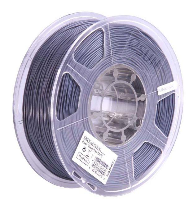 Esun 2.85 mm Grey ABS+ Plus Filament