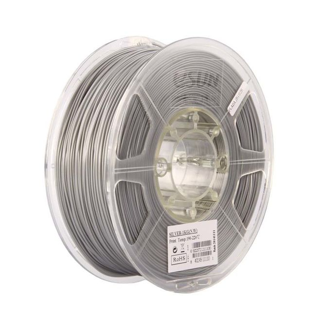 Esun 2.85 mm Gümüş ABS+ Plus Filament - Silver