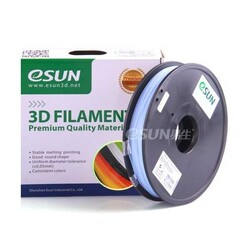 Esun - Esun 2.85 mm Isıyla Renk Değiştiren Filament - Maviden Beyaza