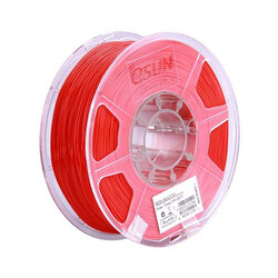 Esun - Esun 2.85 mm Kırmızı ABS+ Plus Filament - Red