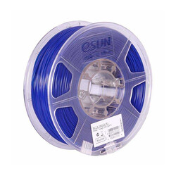 Esun - Esun 2.85 mm Mavi ABS+ Plus Filament - Blue