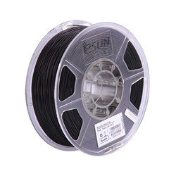 Esun - Esun 2.85 mm Siyah ABS+ Plus Filament - Black