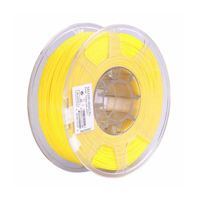 Esun 2.85 mm Yellow ABS+ Plus Filament