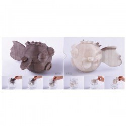 Esun Isıyla Renk Değiştiren Filament - Maviden Beyaza - Thumbnail