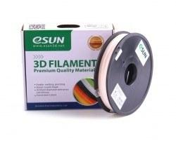 Esun 1.75 mm UV/Güneş Işığıyla Renk Değiştiren Filament - Naturalden Kırmızıya - Thumbnail
