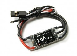 Favourite Little Bee 20A 2-4S ESC (No BEC) - Thumbnail