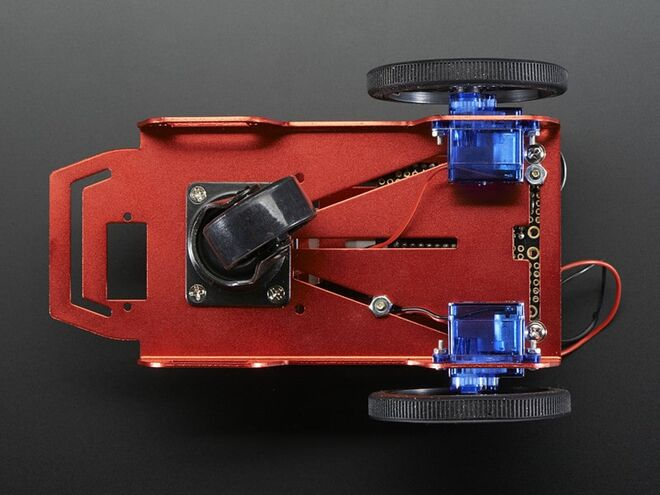 FEETECH 2WD Mini Robot car Arduino Kit chassis FT-MC-002