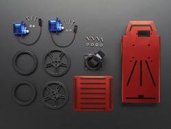 FEETECH 2WD Mini Robot car Arduino Kit chassis FT-MC-002 - Thumbnail