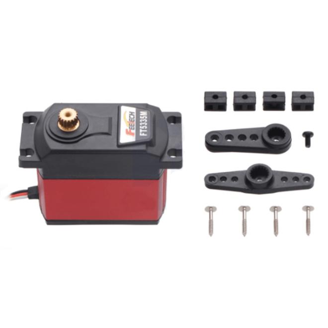 FEETECH FT5335M-FB Ultra Yüksek Torklu - Yüksek Voltajlı Dijital Servo Motor (Pozisyon Geri Beslemeli)