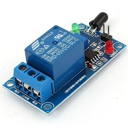 Robotistan - Flame Sensor with Relay Combo Module