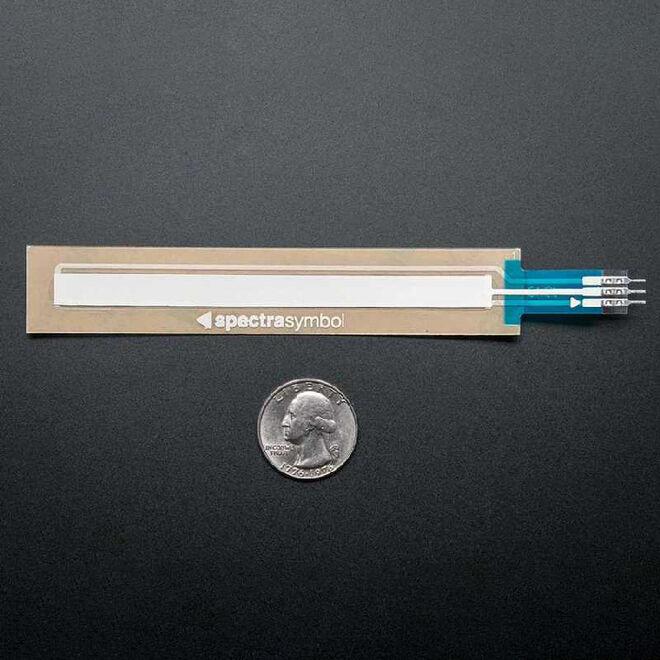 Flexible Linear Potentiometer