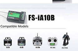 Flysky 2.4G 10CH FS-iA10B Receiver PPM Output With iBus Port - Thumbnail
