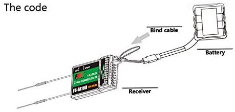 Flysky 2.4G 10CH FS-iA10B Receiver PPM Output With iBus Port