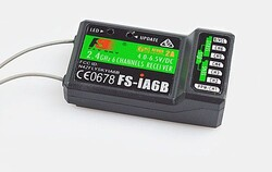 Flysky FS-iA6B 6CH Receiver PPM Output with iBus Port for FS-I6 I6S Transmitter - Thumbnail