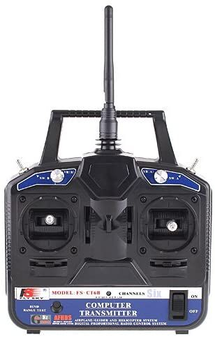 FS-CT6B 2.4G 6CH Transmitter&Receiver for Helicopter
