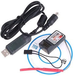 FS-CT6B 2.4G 6CH Transmitter&Receiver for Helicopter - Thumbnail