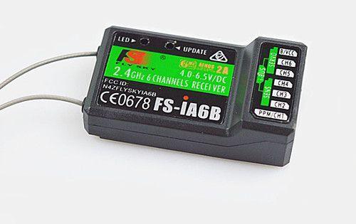 FS-İA6B Alıcı - Flysky FS-İ6-İ6S Uyumlu 6 Kanal