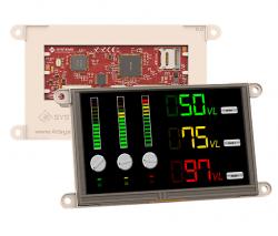 4D Systems - gen4 5.0 Inch Dokunmatik, Çerçevesiz TFT LCD Ekran - gen4-uLCD-50DT