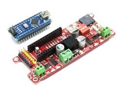 Genesis Arduino Robot Kartı (Arduino NANO Dahil Değil) - Thumbnail