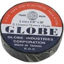Globe Isolated Band(Electric Tape) - Black - Thumbnail