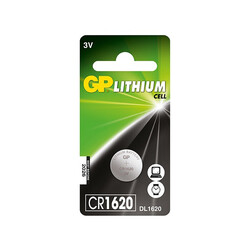 GP - GP CR1620 3V Coin Cell Battery
