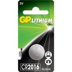 GP - GP CR2016 3 V Pil