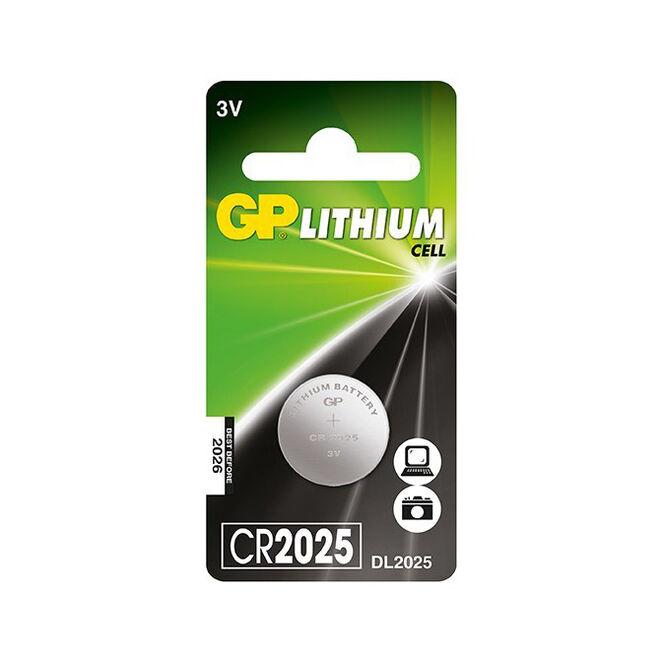 GP CR2025 3V Coin Cell Battery