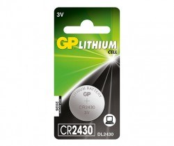 GP - GP CR2430 3V Coin Cell Battery
