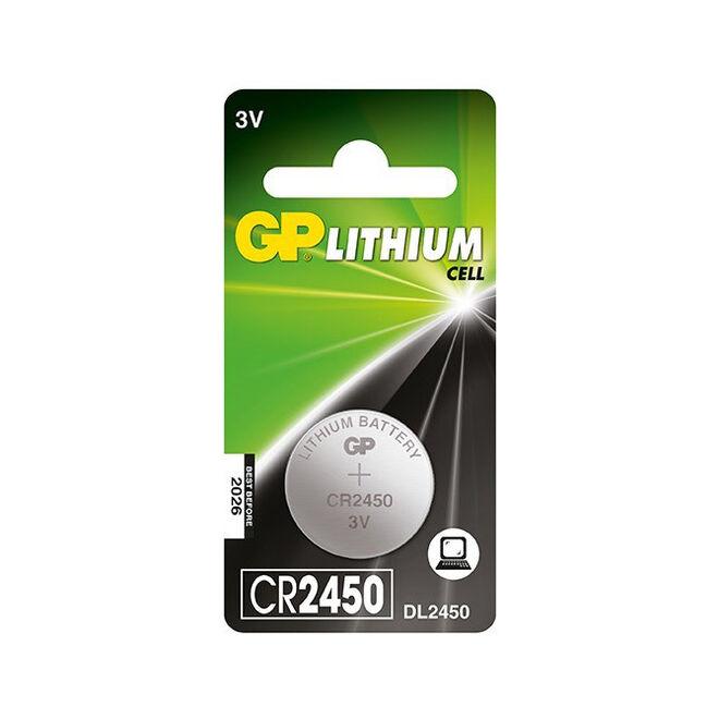 GP CR2450 3V Coin Cell Battery