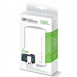 GP PowerBank 12000 mAh - GP302 (White) - Thumbnail