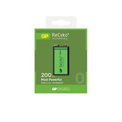 GP - GP Recyko 9 V 200 mAh Şarjlı Pil