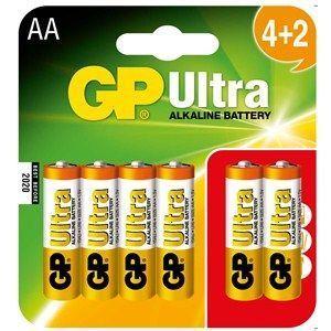 GP Ultra Alkalin 1.5 V AA Kalem Pil - (4+2) 6′lı Ekonomik Paket