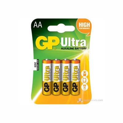 GP Ultra Alkalin Pil AA Kalem 4′lü Paket