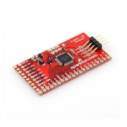 Graphical LCD Serial Converter Board - Thumbnail
