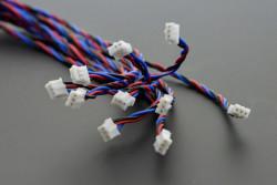 Gravity: Arduino için Analog Sensör Kablosu - 10'lu Paket - Thumbnail